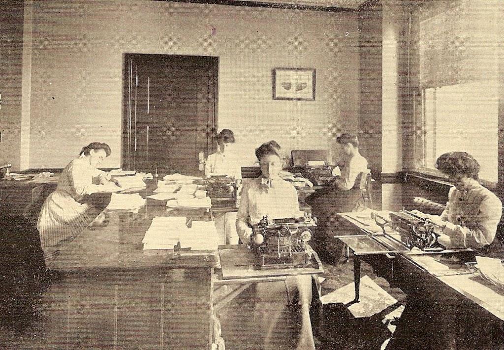 Dipartimento-di-dattilografia-1903
